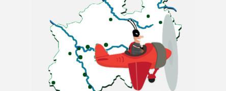 - Link auf: Rundflug NRW