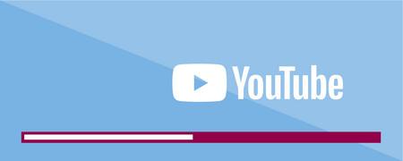 Oben YouTube-Logo, unten ein Fortschrittsbalken  - Link auf: YouTube-Kanal