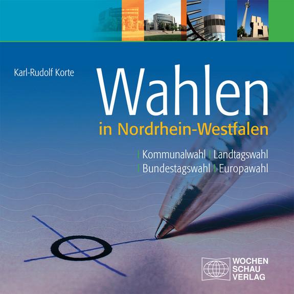 Buchcover: Wahlen in Nordhrein-Westfalen