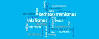 Einstiegsprozesse in den Rechtsextremismus und Salafismus  - Link auf: Einstiegsprozesse in den Rechtsextremismus und Salafismus