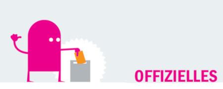 "Piktogramm und Aufschrift ""Offizielles""  - Link auf: Offizielles"