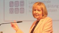 - Link auf Detailseite zu: Hannelore Kraft - 70 Jahre Landeszentrale für politische Bildung NRW