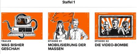Screenshot der Internetseite freeyourdata.org/de/  - Link auf: Free Your Data