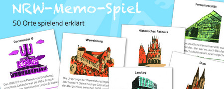 Das NRW-Memo-Spiel  - Link auf: Das NRW-Memo-Spiel