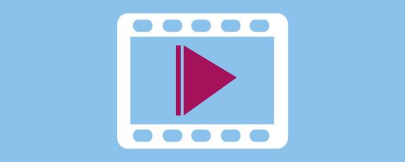 Grafik mit Symbol für Film