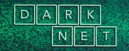 Schriftzug Darknet  - Link auf: Darknet