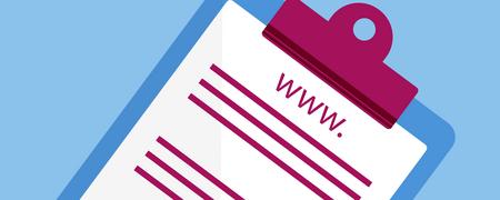 """Ein Notizblock mit dem Schriftzug """"www""""  - Link auf: Linkliste"""