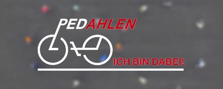 """Ausschnitt der Projektseite """"Pedahlen""""  - Link auf: """"PedAhlen"""" Radfahr-Verkehrskonzept (Ahlen)"""