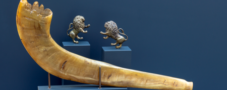- Link auf: Schofar und zwei Löwen
