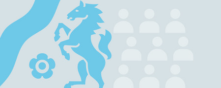 Logo Zukunft Demokratie  - Link auf: NRW-Forum: Zukunft Demokratie