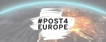 - Link auf: #post4europe