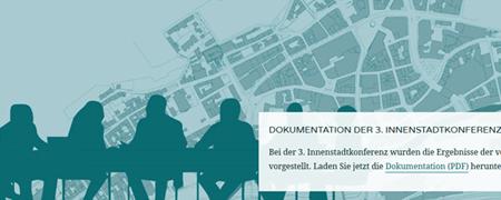 """Ausschnitt aus der Projektseite """"Qualitätsoffensive Innenstadt Elberfeld""""  - Link auf: Qualitätsoffensive Innenstadt Elberfeld (Wuppertal)"""