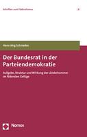 Mehr Infos zum Buch: Der Bundesrat in der Parteiendemokratie