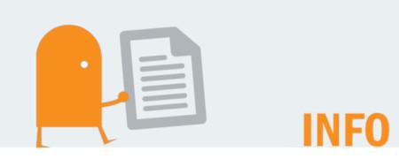 """Piktogramm und Aufschrift """"Info""""  - Link auf: Infos zu Wahl"""