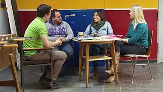 : Ugur, Anethea, Julia & Yannis über Rollenbilder