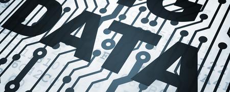 """Aufschrift """"Big Data"""" auf Kennzahlen.  - Link auf: Chancen"""