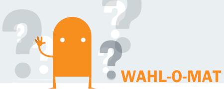Piktogramm Wahl-O-Mat  - Link auf: Wahl-O-Mat zur Landtagswahl NRW