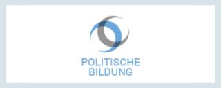 Grafik mit Logo von politische-bildung.de  - Link auf: Dossier zur Europawahl