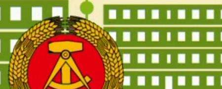 Piktogramm: DDR-Symbol  - Link auf: Medien