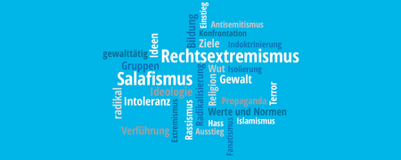 Wortwolke aus verschiedenen Begriffen.  - Link auf: Bonn, 19. November: Einstiegsprozesse