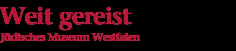 Bildliche Darstellung der Überschrift: Weit gereist, Jüdisches Museum Westfalen