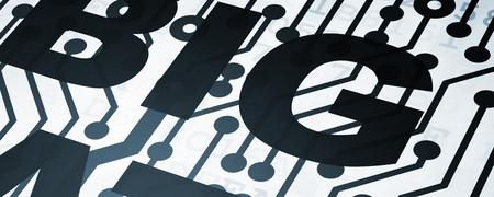 """Aufschrift """"Big Data"""" auf Kennzahlen.  - Link auf: Risiken"""