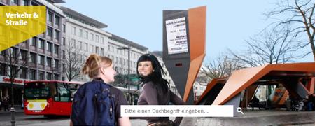 """Ausschnitt der Projektseite """"Vision Mobilität 2050""""  - Link auf: Vision Mobilität 2050 (Aachen)"""