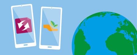 Grafik zum Thema  - Link auf: Nachhaltig digital?!
