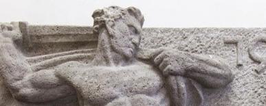 Das Relief von Herkules im Kampf mit der Hydra  - Link auf: Relief