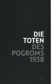 "Cover ""Die Toten des Pogroms"""
