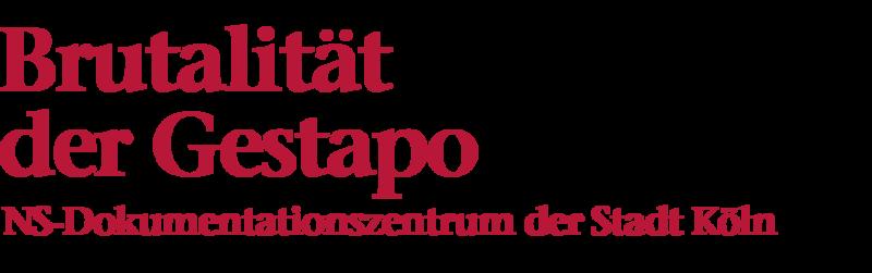 Bildliche Darstellung der Überschrift: Brutalität der Gestapo, NS-Dokumentationszentrum der Stadt Köln