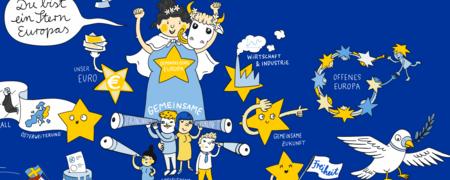 - Link auf: Du bist ein Stern Europas
