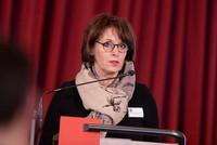 Maria Springenberg-Eich am Rednerpult