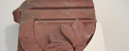 Steinornament  - Link auf: Fragmente Bonner Synagoge