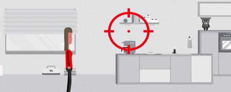 """Screenshot der Internetseite """"Der kleine Datentest"""", www.politische-bildung.nrw.de/digitale-medien/apps-games/der-kleine-datentest/  - Link auf: Der kleine Datentest"""