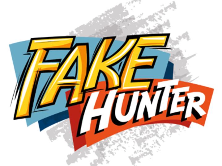 "Das Logo des Projekts ""FakeHunter"""