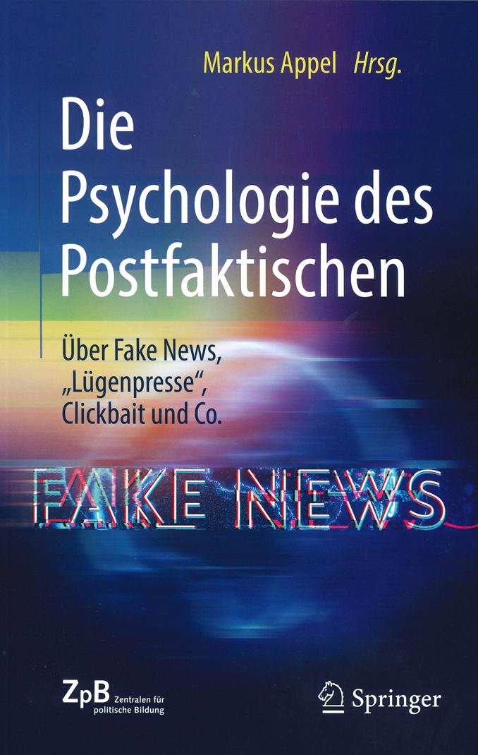 Mehr Infos zum Buch: Die Psychologie des Postfaktischen