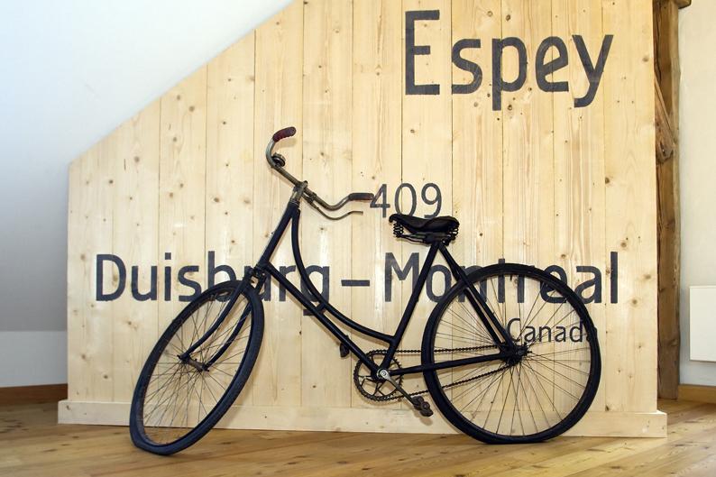 Fahrrad im Museum