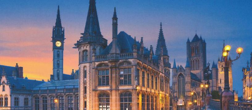 Foto eines historisches Gebäudes in Belgien