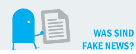 """Piktogramm """"Was sind Fake-News?"""""""