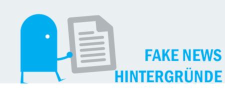 "Piktogramm ""Hintergründe zu Fake News"""